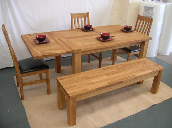 Oak Dining Table - Dining Furniture